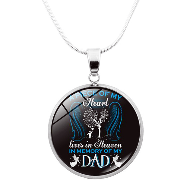 TO MY DAD - REMEMBRANCE DAD NECKLACE