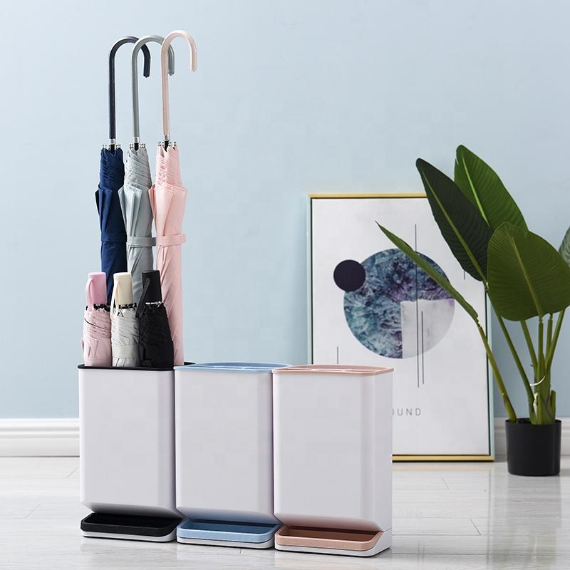 new original design plastic umbrella stand portable for home indoor fashion decoration holder trash can-1.20