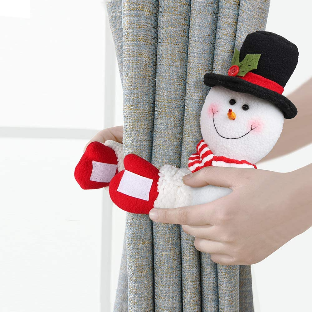 Christmas Curtain Buckle