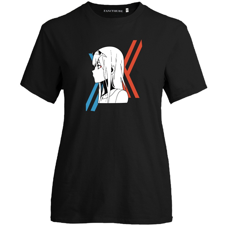 Japanese Anime Darling In The Franxx Printed Shirt