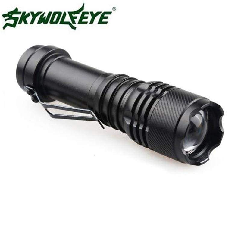 Super Bright 5000LM Q5 AA//14500 3 Modes ZOOMABLE LED Flashlight Torch