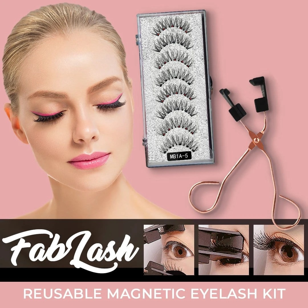 🔥 Black Friday 50% OFF🔥FABLASH REUSABLE QUANTUM MAGNETIC EYELASH KIT