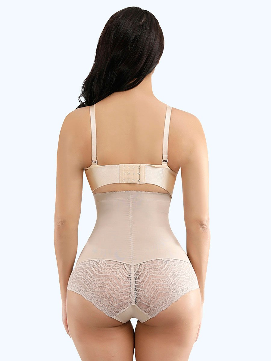 okiwilldo Flawlessly Double Layers Elatic Waist Butt Lifter