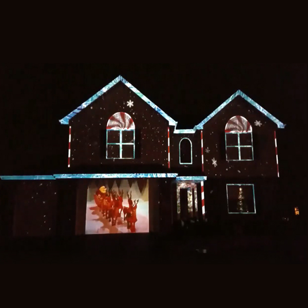 🎅CHRISTMAS PRE-SALE 50% OFF-CHRISTMAS HOLOGRAPHIC PROJECTION