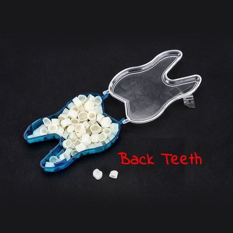 60 Pcs/ Pack of Temporary Dental Patch Teeth Whitening Crown Porcelain Dental Materials