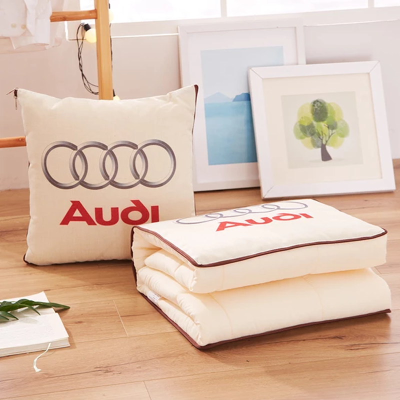 65% OFF-Car Logo 2-in-1 Multi-function Magic Pillow Blanket