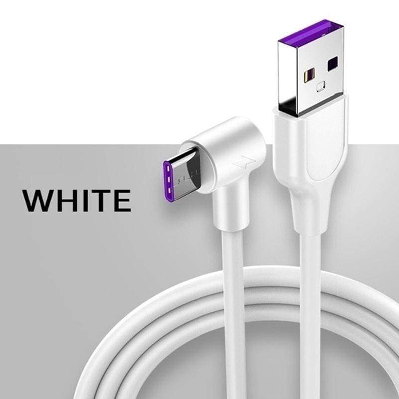 5A  Fast Charging Cord Type C Cable for Samsung S8/S9/S10 Plus Note 8 910 Pro USB C Cable for Huawei P20 P30 Pro Mate 20 Xiaomi