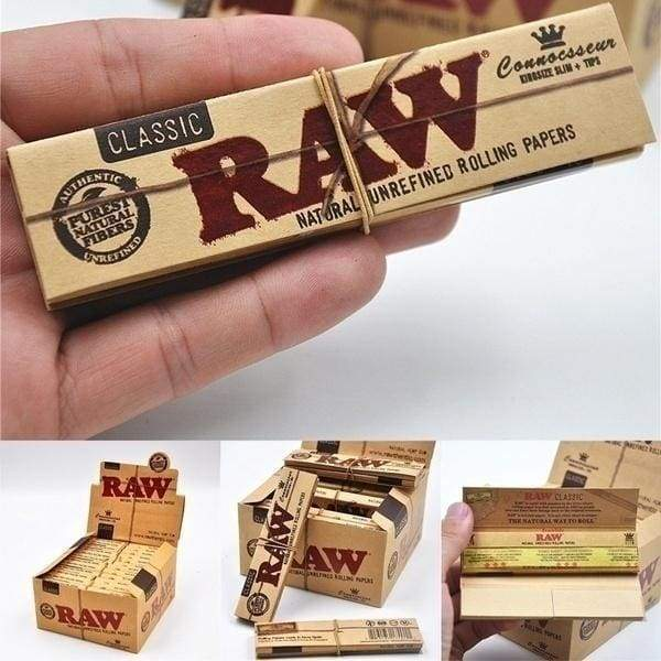 New 64pcs/128pcs Rolling Paper Translucent High Quality Classic Native RAW Paper