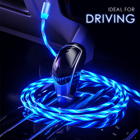🔥 iGlow™ Glowing LED Magnetic 3 in 1 USB Charging Cable