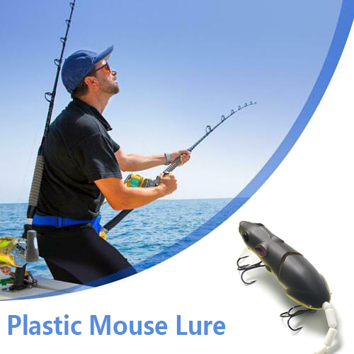 Artificial Fishing Lure Plastic Mouse Lure