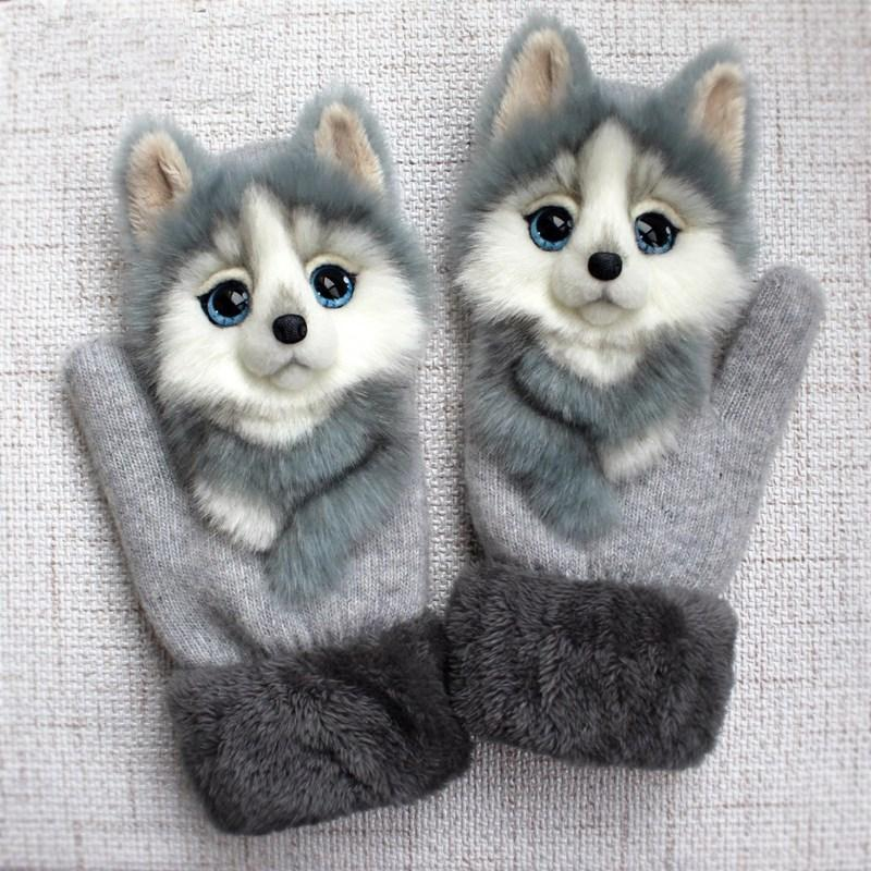 Animal mittens -50% off for 50 Christmas Sale