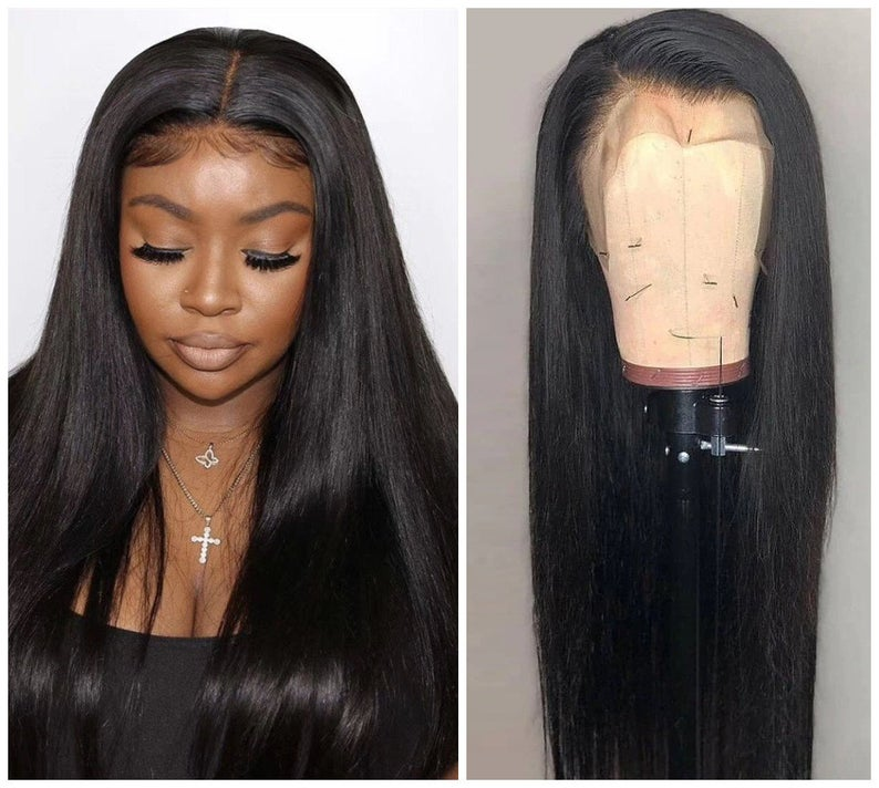 Lace Front Wigs Straight wigs black hair 2020 New Wigs Free shipping