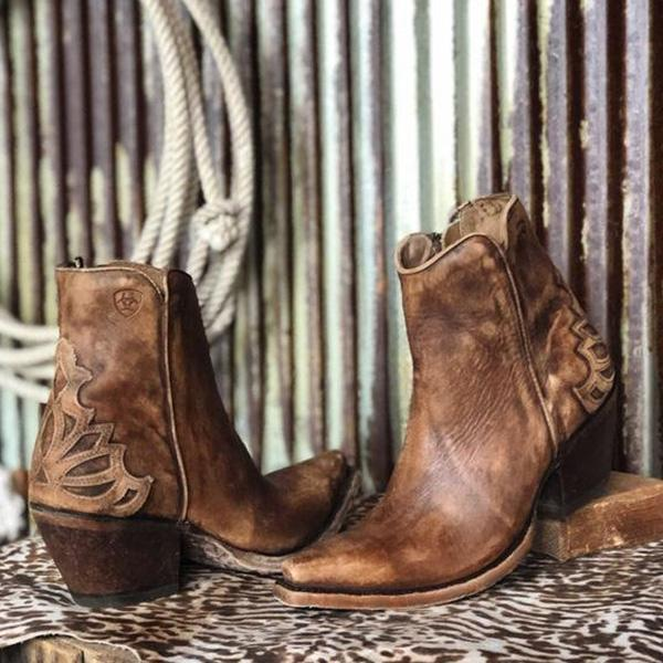 Upawear Vintage Casual Winter Boots