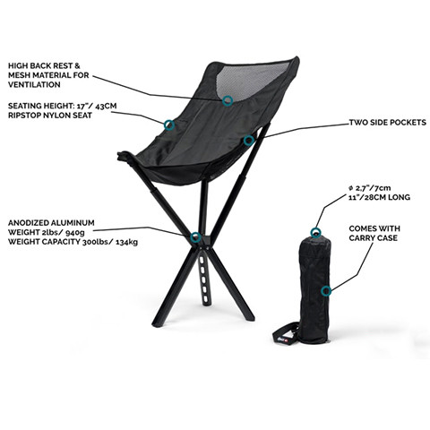 (Hot Sale)Campster Full-Height Ultra-Light Everywhere Chair