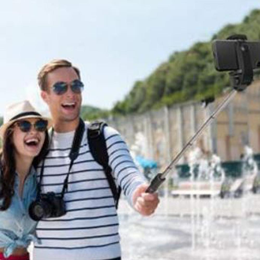 All-in-one Portable 40-inch Aluminum Selfie Stick Phone Tripod for iPhone Android