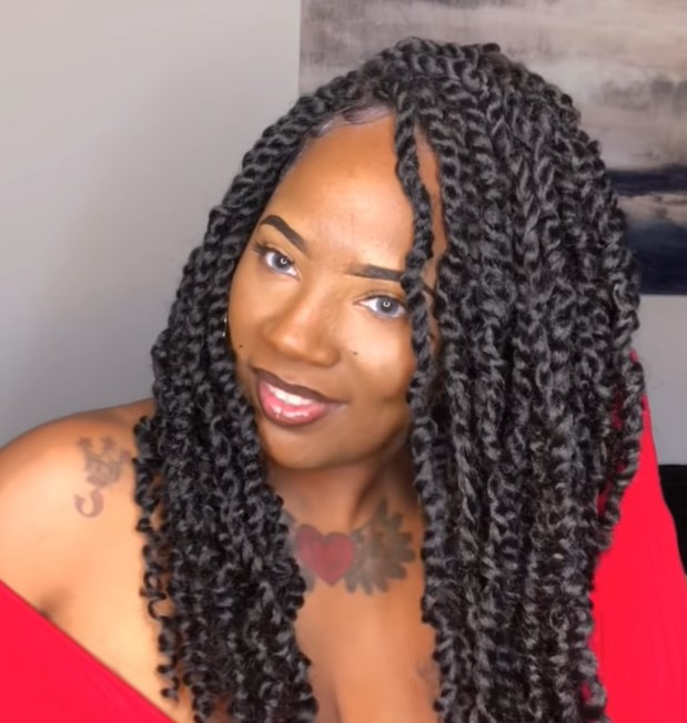 PREMIUM SYNTHETIC HAND BRAIDED  LACE FRONT WIG