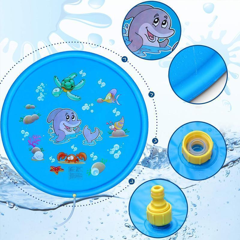 Water Play Pad for Kids