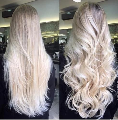 Lace Front Wigs Platinum Blonde Wig White Blonde Wig Blond Human Hair