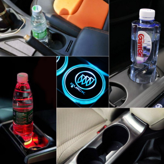 【50% OFF TODAY】Led Car Logo Cup Lights
