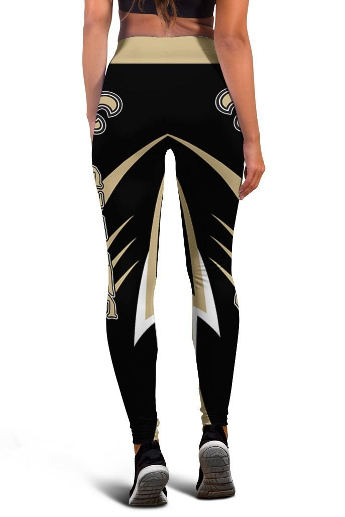 New Orleans Saints Limited Edition 3D Printed Leggings