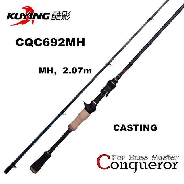 Kuying Conqueror 1.98M 2.0M 2.07M Fast Action Casting Spinning Fishing Lure