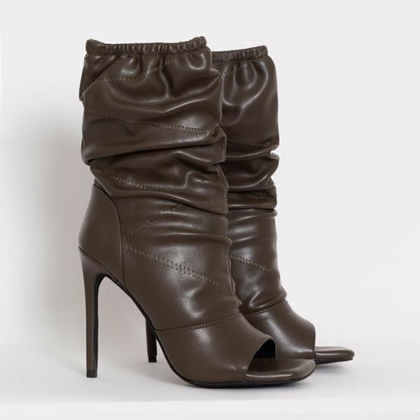 Upawear Elastic Pleated Boots