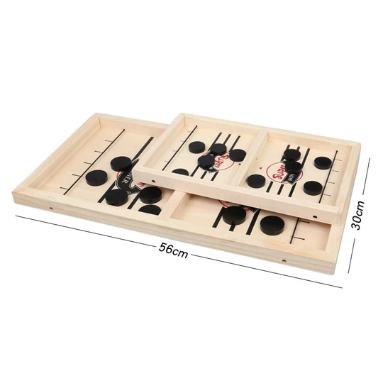 amazon™ Funny Family Wooden Hockey Game - Holiday Sale