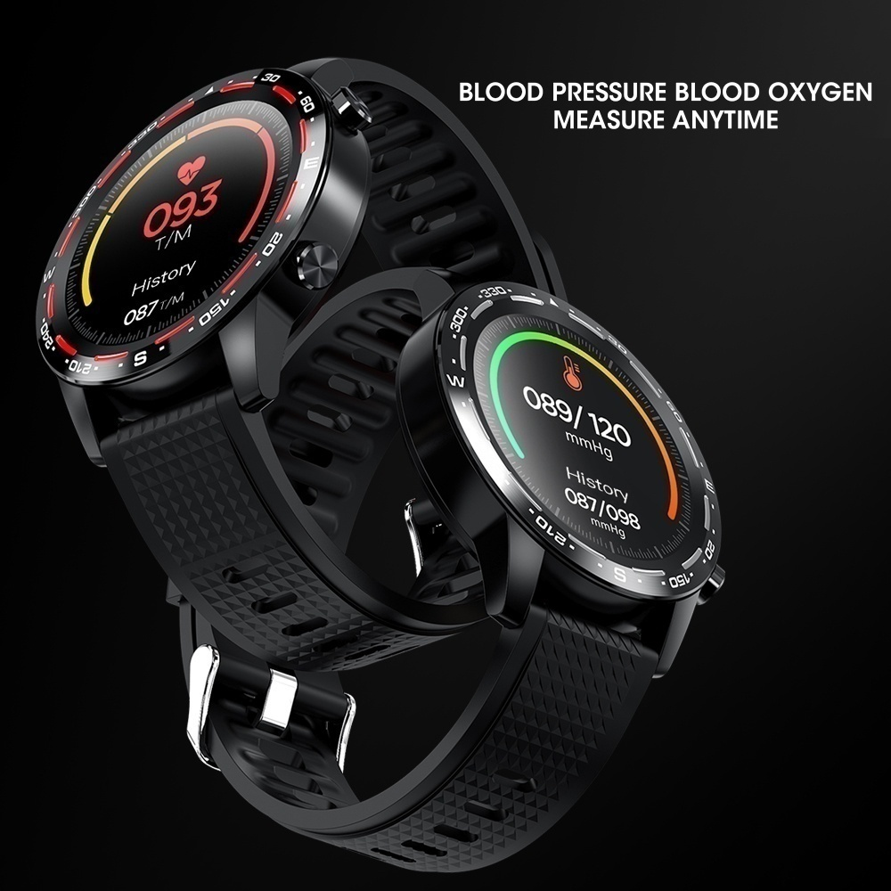 Men ECG 2020 Smart Watch Heart Rate Bluetooth Call  Blood Pressure Oxygen Monitor Multi-Sports Mode Fitness Tracker VS L Series Wtach