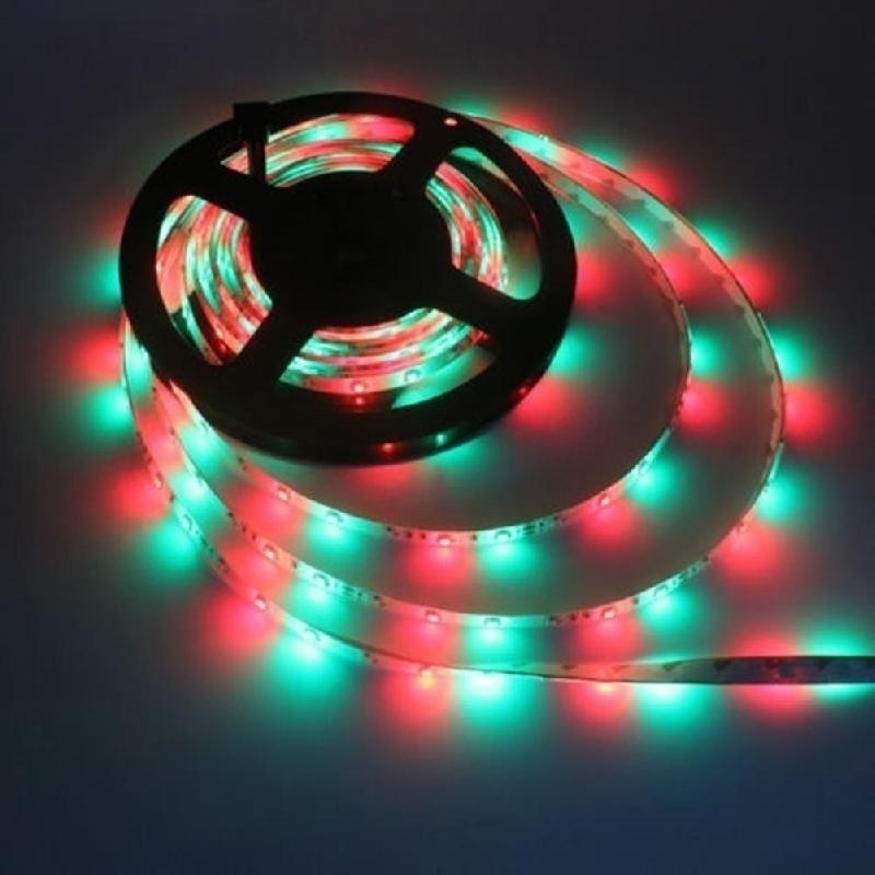 1/3/5/10/20M RGB LED Light Strip 3528 SMD Flexible Color Changing Light String +44 Key IR Remote Control For Home Lighting Kitchen Bed Decoration