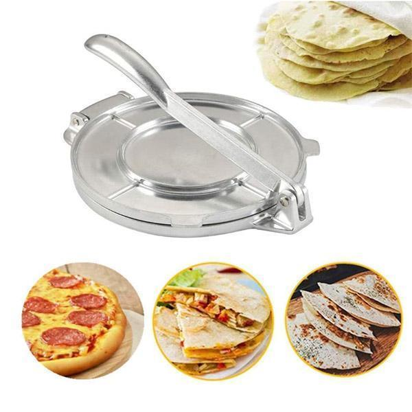 【Free Shipping Day】Alloy Steel Metal Non-Stick Tortilla Maker