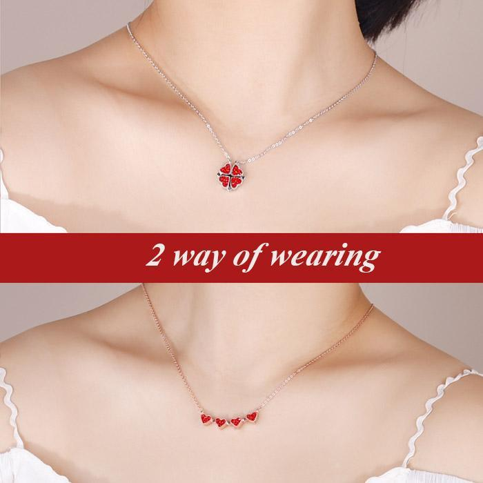 【Buy 1 Get 1 Free】Women's Favorite S925 Silver Clover Necklace