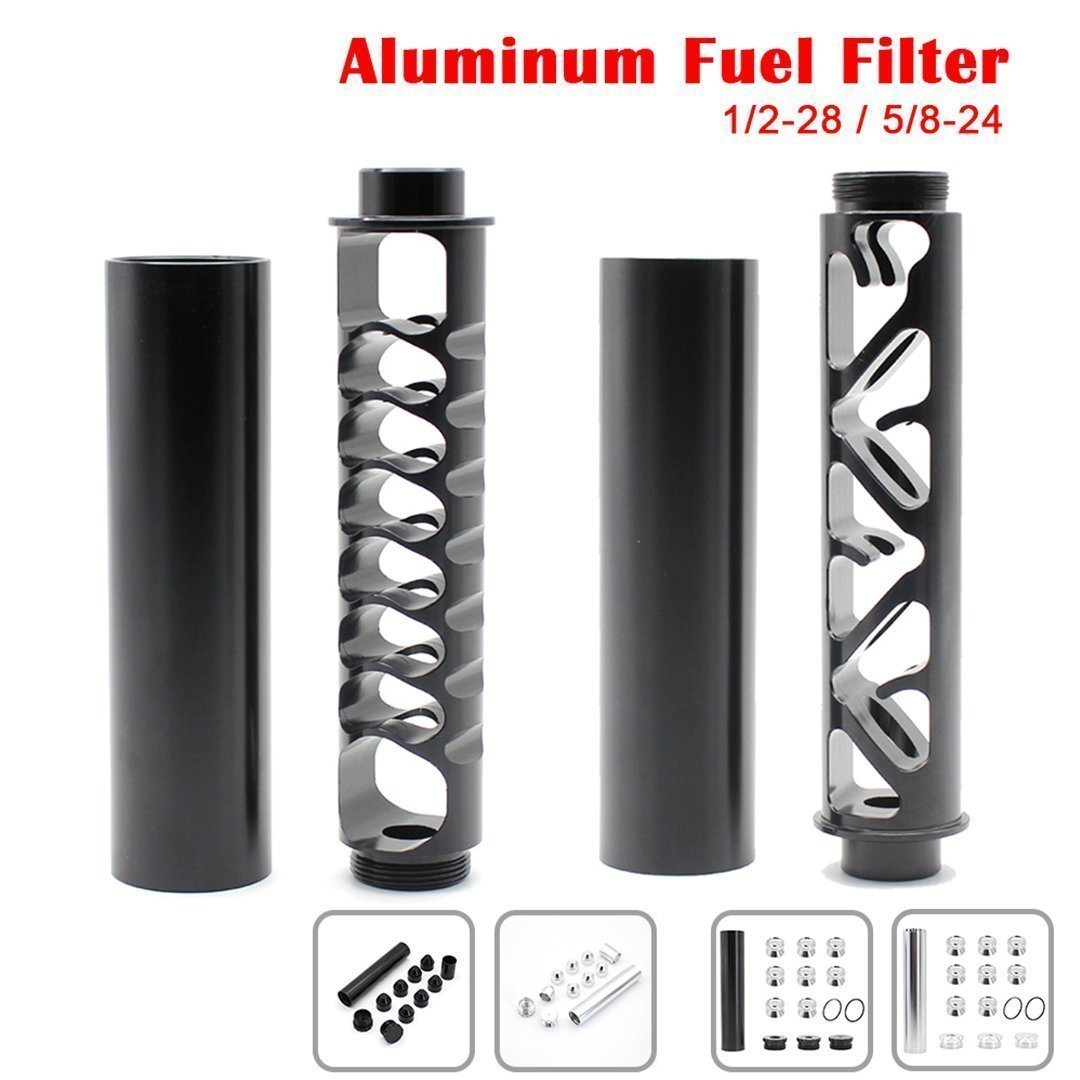 【BUY 2 FREE SHIPPING】For NAPA 4003 WIX 24003 -1/2-28 5/8-24 Fuel Filter Aluminum Solvent Trap