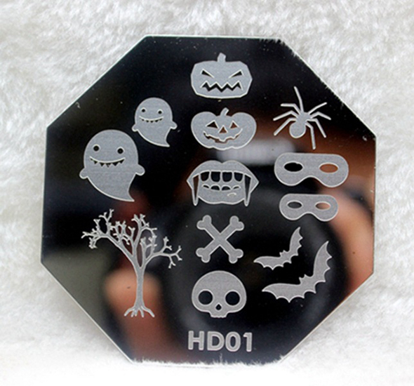 Halloween Nail Art Self-Adhesive Stickers Decals