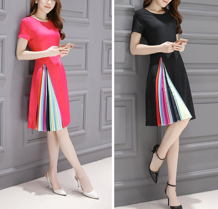 2019 Summer Women Lady Vintage Casual Party Evening Cocktail Mini Dress