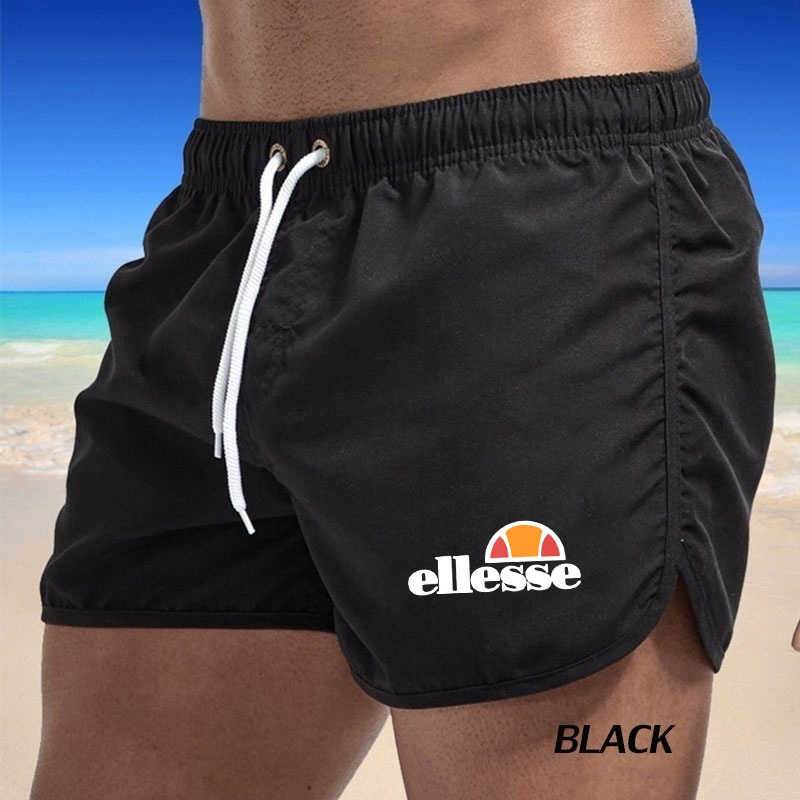 Mens Summer Shorts Beach Shorts Swim Trunks Swimwear Mens Boxer Shorts Casual Sports Pants(6 Colors)