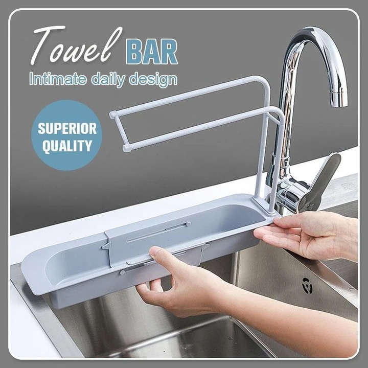 Telescopic Sink Storage Rack (Summer Sale 50% OFF Today)