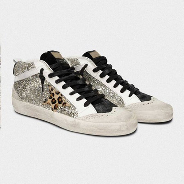 Mokoshoes Daily Shiny Lace Up Sneakers