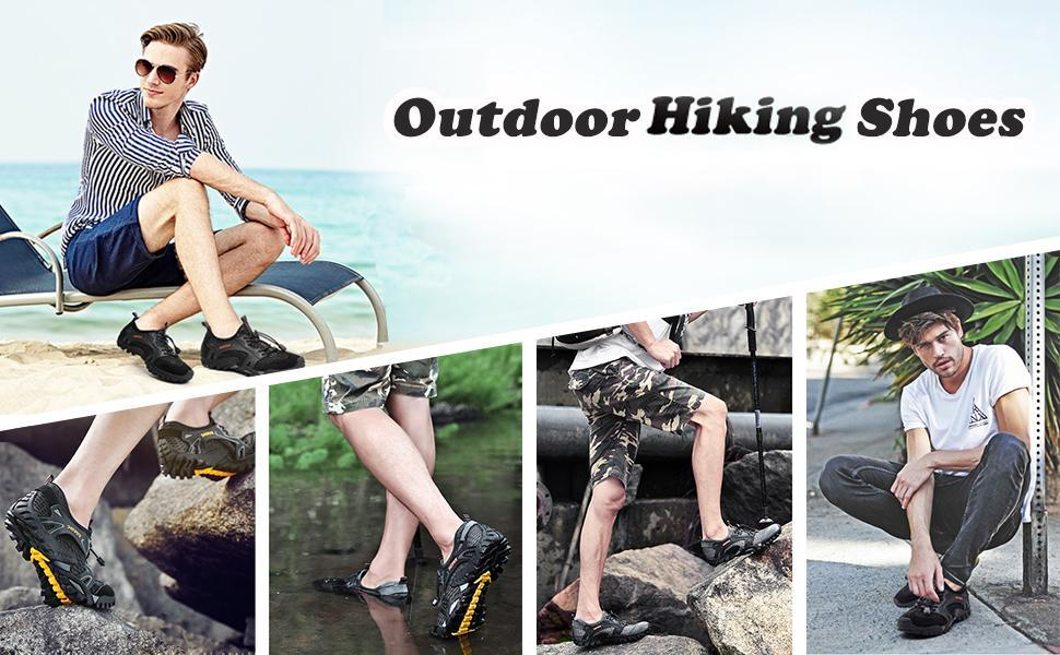 50%OFF! Outdoor Hiking Shoes - Super Resistant & Comfortable