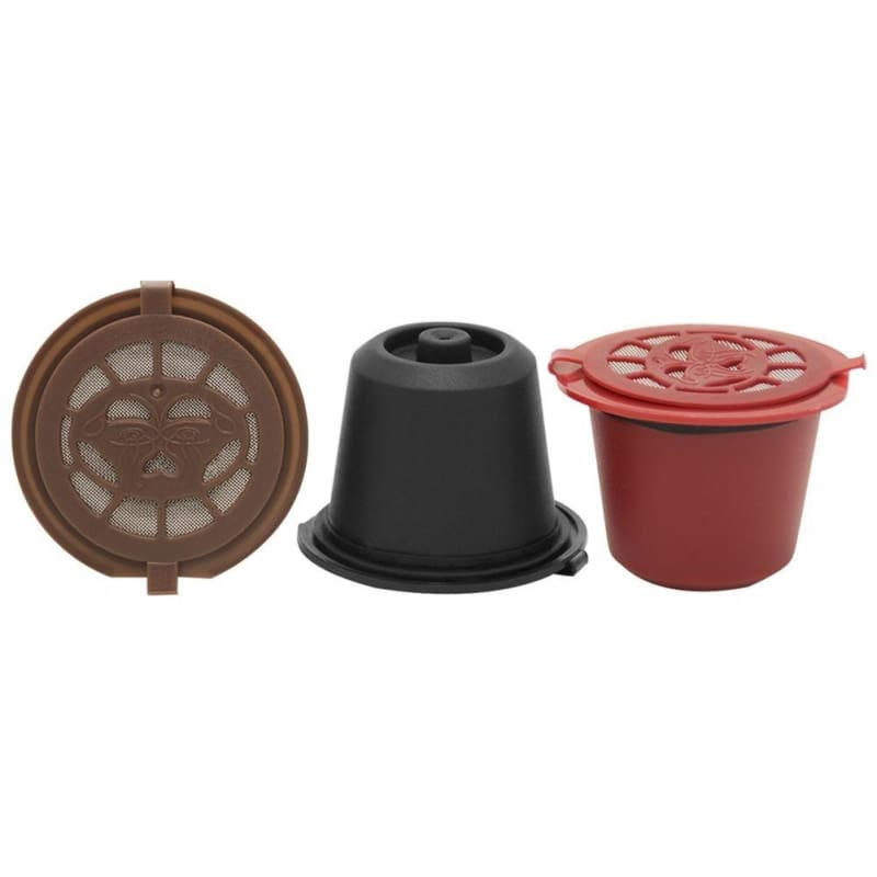 1/5Pcs  Refillable Reusable Coffee Capsule Filter for Nespresso Coffee Machine