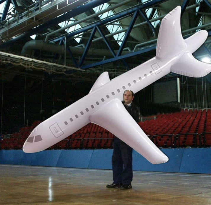 🌟Christmas Hot Sales🌟 2020 Large Inflatable Airplane