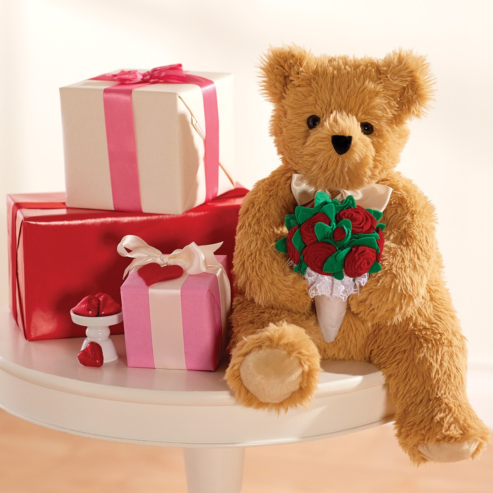World's Softest Bear with Rose Bouquet(BUY 1 GET 1 FREE)