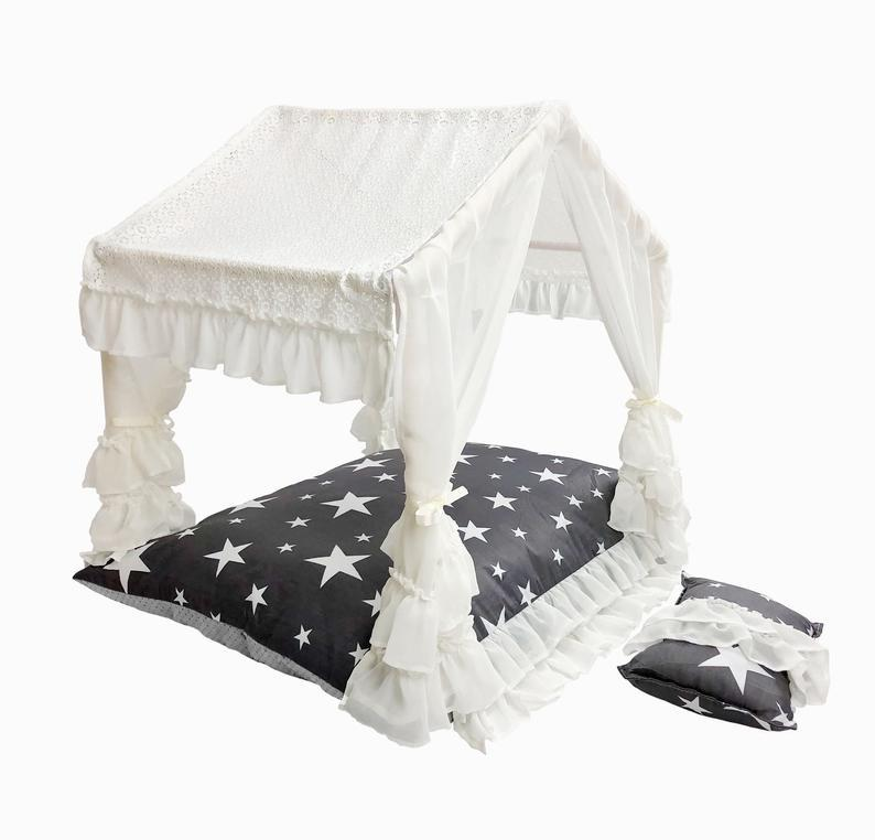 Starry Night Cabana Dog Bed