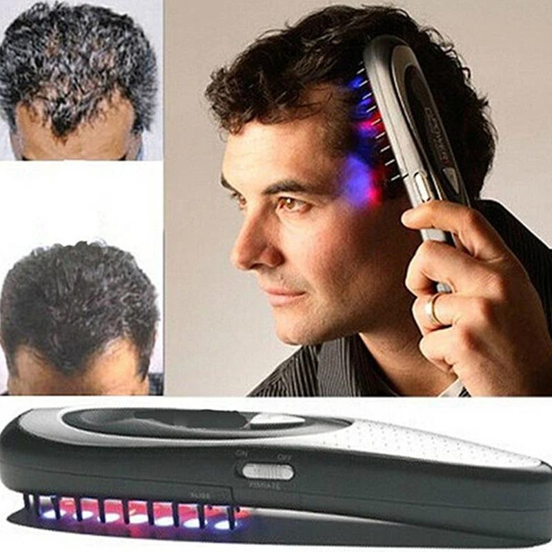 【50% discount for a limited time】Electric massage laser comb Infrared anti-dropping health comb