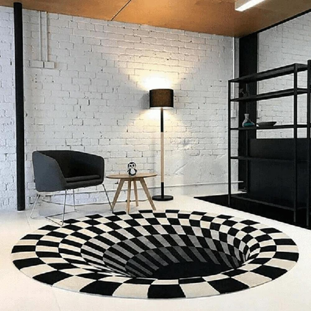 🔥🔥50%OFF ONLY TODAY🔥🔥Non-Slip 3D Vortex Illusion Rug
