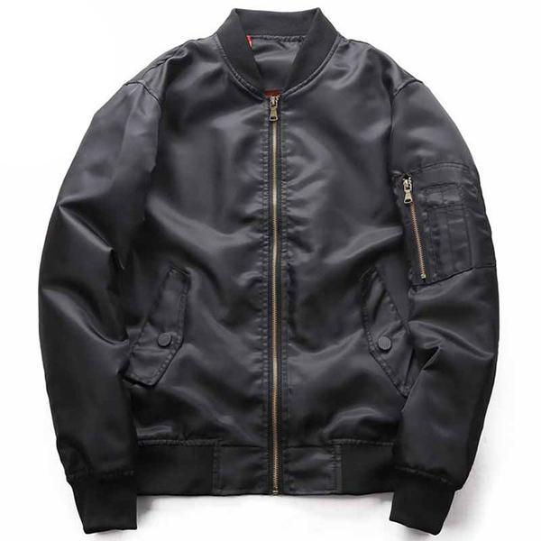 Casual Air Force One Ma-1 American Pilot Loose Men Bomber Jacket