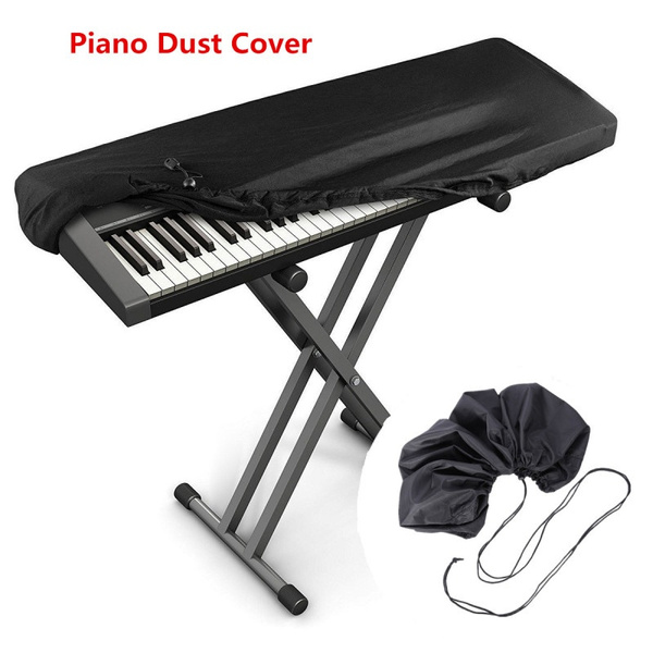 1PC 61/88 Key Electronic Piano Dust Cover with a Drawstring Protective for Piano Keyboard