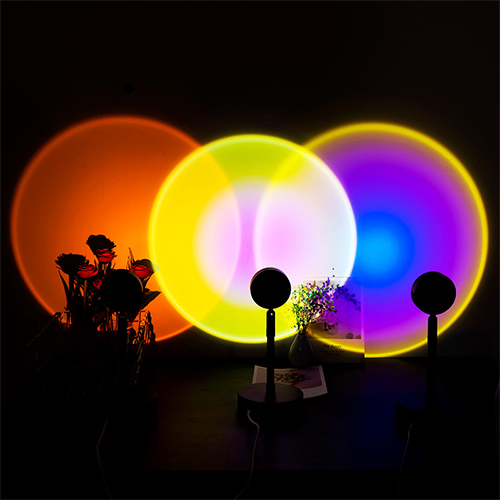 Rainbow Projection Ambient Light