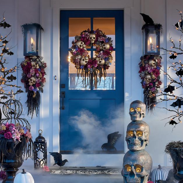 🎁HALLOWEEN HOT SALE🎁Eerily Enchanted Wreath