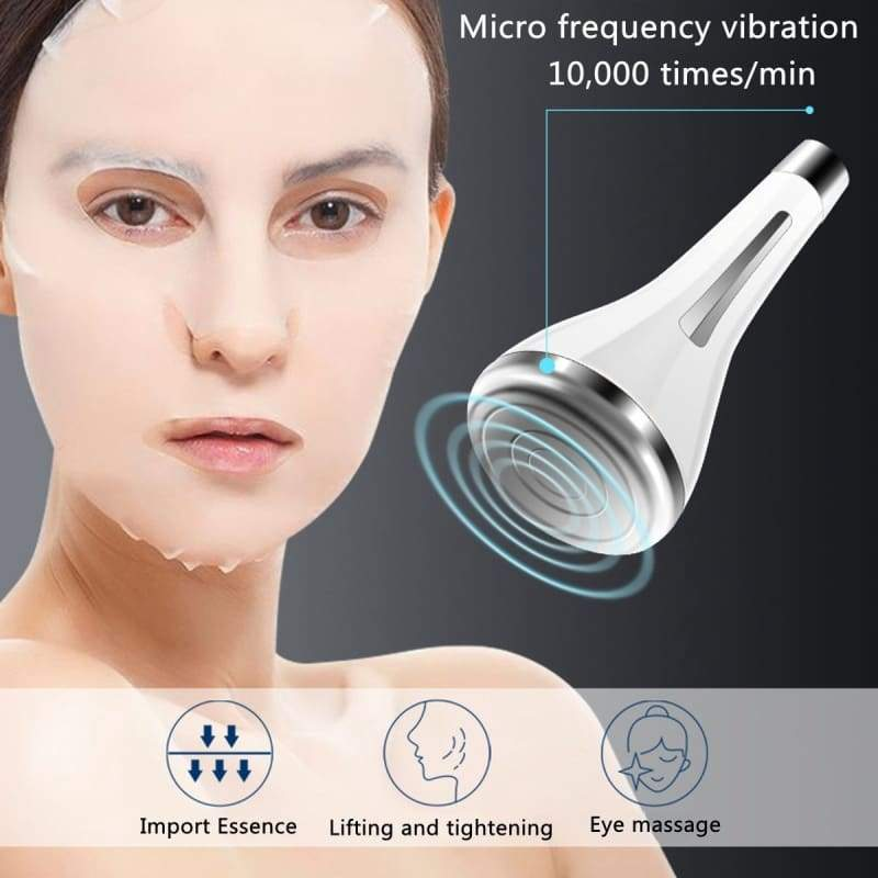 Face Skin EMS Mesotherapy Facial Photon Skin Care Device Face Lifting Tighten Whitening Beauty Tool