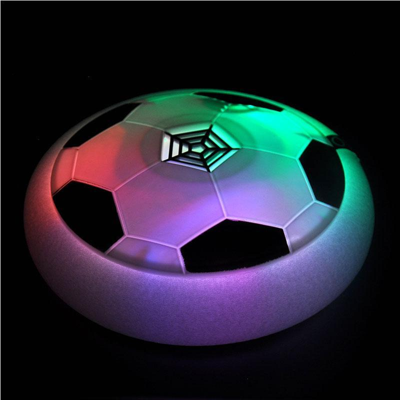 LED Lighted Music Air Hover Soccer Ball Toy for Outdoor/Indoor Activity